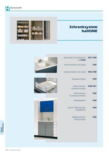 Schranksystem haliONE - Hammerlit