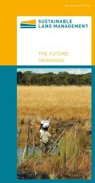 THE FUTURE OKAVANGO - Nachhaltiges Landmanagement