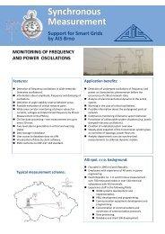 Monitoring of Power Oscillations - AIS spol. s ro