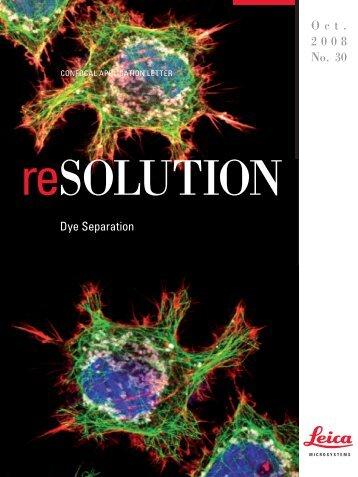 Dye Separation - Leica Microsystems