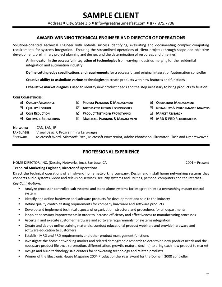 Network Engineer Resume Templates  BesikEightyCo