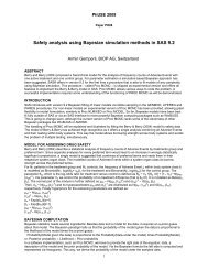 Safety analysis using Bayesian simulation methods in ... - PhUSE Wiki