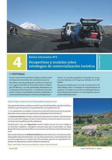 Perspectivas y modelos sobre estrategias de comercialización turística