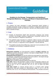 Guidelines for the Storage, Transportation and Handling of ...