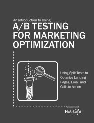 A/B TESTING FOR MARKETING OPTIMIZATION
