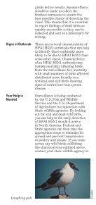 Avian Influenza Factsheet - Page 6