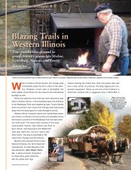 Blazing Trails in Western Illinois - Leisure Group Travel
