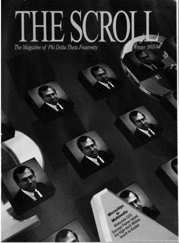 1994 Volume 117 No 1–4 - Phi Delta Theta Scroll Archive