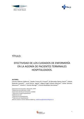 341119-Efectividad Cuidados Enfermería en agonía paciente terminasles hospitalizados