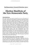 NDP Election Manifesto Parliamentary Elections 2010 Post-Poll ... - Page 5