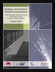 Building a 21st Century Telecom Infrastructure - Pockets ...
