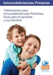 Tratamientos para Inmunodeficiencias Primarias - Ipopi