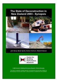 The State of Deconstruction in New Zealand 2003 - Zero Waste