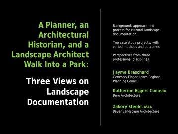 Presentation - Landmark Society | of Western New York