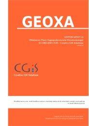 Geoxa Editor MPZP 2.0 - Podręcznik