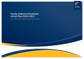Family Violence Prevention Action Plan 2010-2013 - Brimbank City ...