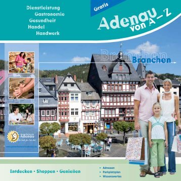 Adenauer Land - Gewerbeverein Adenau
