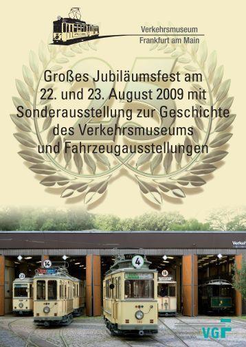 Flyer 25 Jahre Verkehrsmuseum - HSF