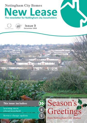 New Lease issue 9.indd - Nottingham City Homes