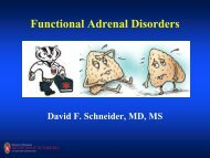 Functional Adrenal Tumors