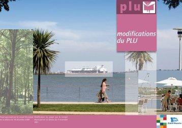 modifications du PLU - Saint-Nazaire