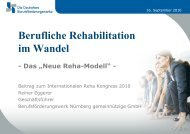 Referat Reiner Eggerer - internationaler reha kongress 2010