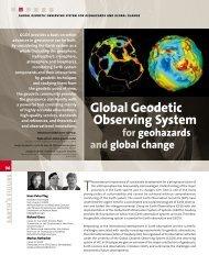 Global Geodetic Observing System - GGOS Portal