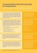 Evropski jezikovni listovnik za srednješolce - Europass - Page 3