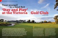 See photos published in Golf Malaysia Magazine ... - Golfplus Media