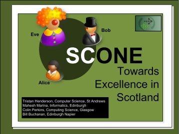 scone - Edinburgh Napier University