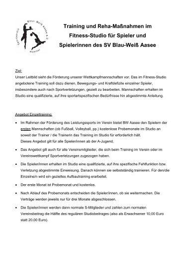 pdf-Datei - SV Blau-Weiß Aasee eV