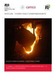 展望后京都:中国钢铁行业温室气体减排和融资机制研究 - NEEC