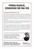 Frida KahLo, esquisse de Ma Vie Frid esquis - Mediatheque de ... - Page 2