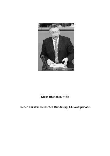 Download - Brandner, Klaus (MdB)