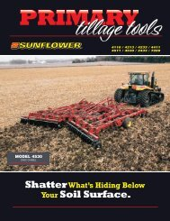 PRIMARY tillage tools - AGCO Iron