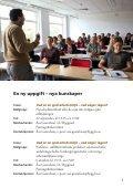 Arbetsmiljöutbildningar - Lunds universitet - Page 3