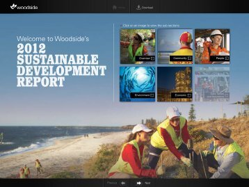2012 sustainable development report (interactive).pdf - Woodside