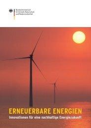 Erneuerbare Energien - Innovationen für eine nachhaltige ... - e+haus