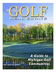 Michigan Golf Communities 2003 - pdf format - Michigan Golfer ON ...