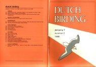 1985-2 - Dutch Birding