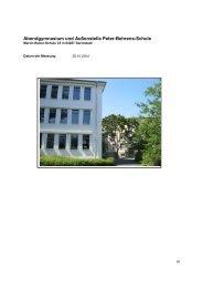 in der Peter-Behrens-Schule - Fluesterndesklassenzimmer.de