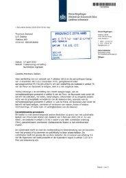 Definitief besluit Flora- en Faunawet - Provincie Zeeland