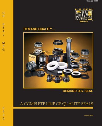 pump manufacturers cross-reference - U.S. Seal Mfg.