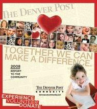 TOGETHER WE CAN - Denver Post Community