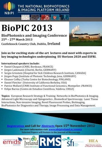 BioPIC 2013 - Molecular Medicine Ireland