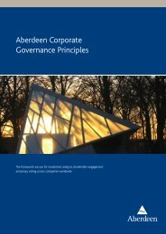 Aberdeen Corporate Governance Principles - Aberdeen Asset ...