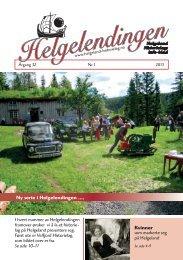 Helgelendingen nr 1 2013 - Helgeland Historielag