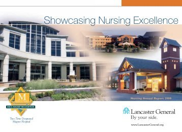 Showcasing Nursing Excellence - Lancaster General