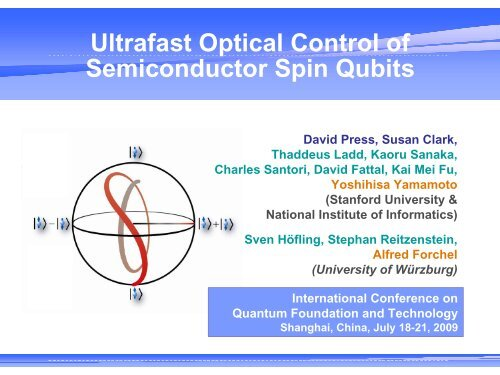 Ultrafast optical control of semiconductor spin qubits toward ...