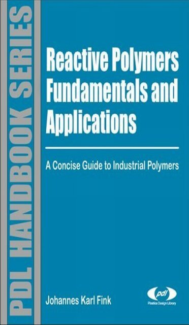 Reactive Polymers Fundamentals And Applicationspdf